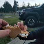 S'more's by the campfire.