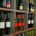 Upstairs Wine Wall