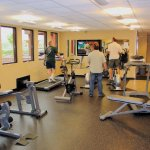 Gym and Steam Room