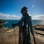 King AArthur at Tintagel Castle