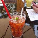 Mocktail on the beach