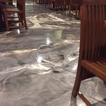 Epoxy Covered Floor