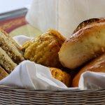 Freshly prepared breads