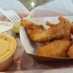 Fried Pickles and Grouper Fingers Awesome!