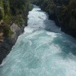 Huka falls river