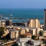 Haifa: Hafen (Sail Tower  בית המפרש)