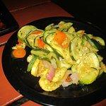 Vegetable side, yummy!