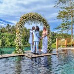 We had our 20th wedding anniversary at The stunning Hanging Gardens Ubud . By renewing our vows