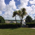 Our view from our sun loungers in the lovely hotel garden