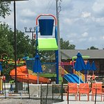 Toddler play area and Splash Pad