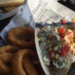 Delicious shrimp taco's