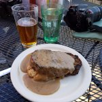 reindeer meatloaf and yummy brews