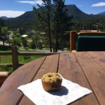 Ask Monica to make you her amazing gluten dairy free blueberry muffins and enjoy them outside