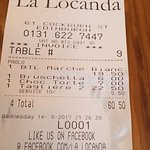 Photo of La Locanda Italian Bistro Edinburgh