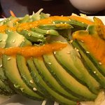 Avocado salad is a must try if you love avocados!  Also the Hawaiian roll and American Dream rol