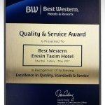 Quality & Service Award 2017