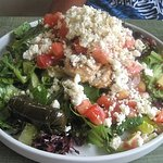Mediterranean Chicken Salad at George's Place.. best salads in town!