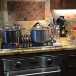 Loved the kitchen, everything I needed was there. I did ask for an additional pot and was provid