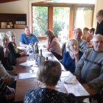 An excellent wine presentation & lunch
