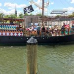 OK not a real pirate ship - but in the historic city dock