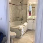 Main Bathroom, two bedroom unit. Semi-ensuite.