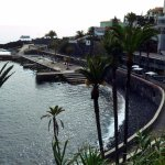 view of clube naval do funchal from the hill before