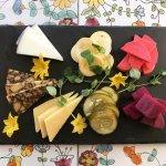 Ploughman's Platter- seasonal, local pickled vegetables, Irish cheddar, porter cheddar, drunken