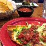 Steak Taco and Cheese Crisp