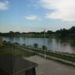 Missouri River as viewed from our room