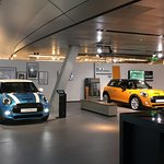 More Mini Cooopers on display at the BMW Headquarters