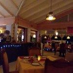 Inside the restaurant Razmataz tandoori