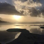 Sunrise over the Klein River Estuary