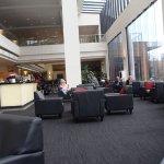 Lobby / cafe area.