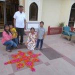 Flower Rangoli -
