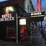 Devil Burger - can't miss the street appeal.