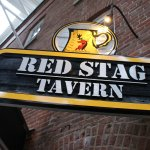 Red Stag Tavern sign