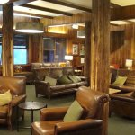 Lounge area in the lodge.