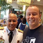 General Ronald Dela Rosa at breakfast