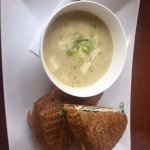 Soup and sandwich special, Bayside Bistro and Lounge  240 Dogwood St | at Quality Resort Bayside