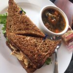 Soup and sandwich lunch special, Bayside Bistro and Lounge  240 Dogwood St | at Quality Resort B