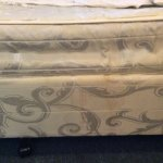 Mattress stained & very uncomfortable
