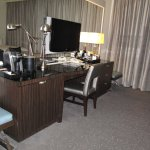 TV, Desk and more seating or luggage space