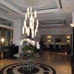 Lobby arae near elevators
