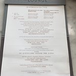 JW Afternoon Tea menu