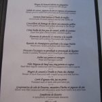 Degustation Menu - delicious and reasonable price