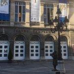 Fachada del Teatro Campoamor en él se entregan los Premios Principes de Asturias