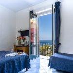 Triple room sea view with balcony