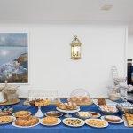 Buffet of breakfast