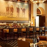 The St. Regis Bar, lively ambience perfect for socializing after a busy day.