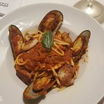 Linguine with the shellfish